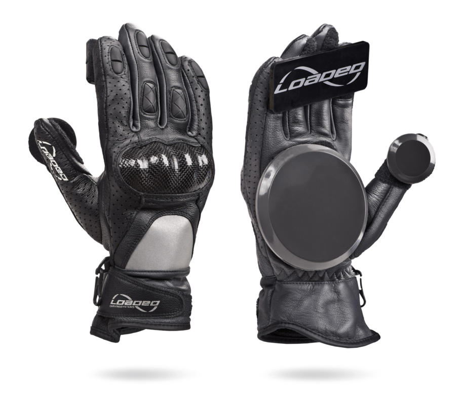 Loaded Leather Race Gloves