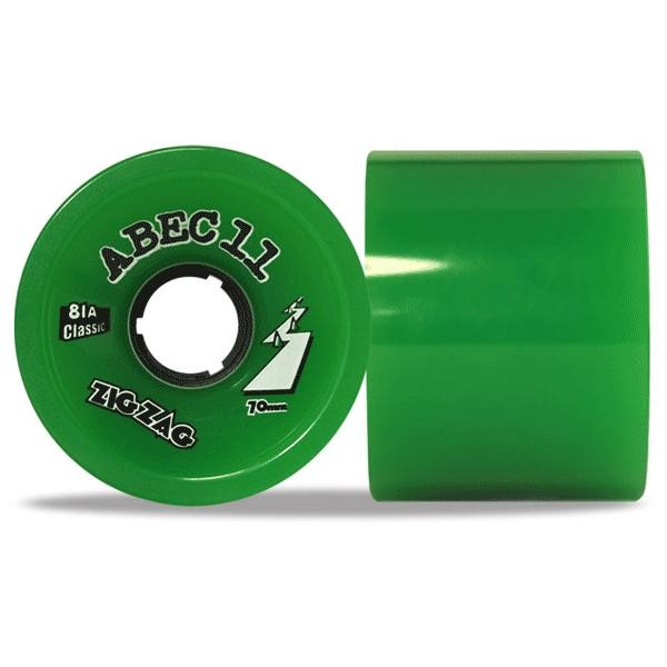 Abec 11 Classic Thane ZigZags 70mm Wheels