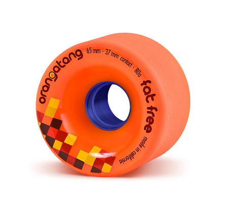 Orangatang Fat Free 65mm x 80a Wheels