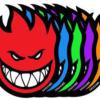 Spitfire Bighead Stickers - Small