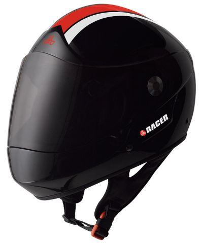 Triple 8 Racer Downhill Helmet – Black