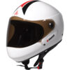 Triple 8 Racer Downhill Helmet - White Gloss