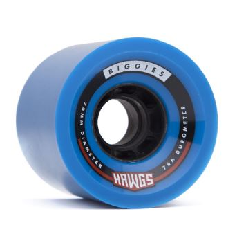 Hawgs Biggie 70mm x 78a Blue Wheels