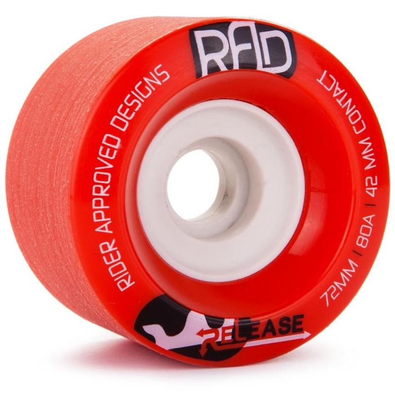 RAD Release 72mm x 80a Red Wheels