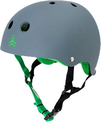 Triple 8 Pro Carbon Rubber Helmet