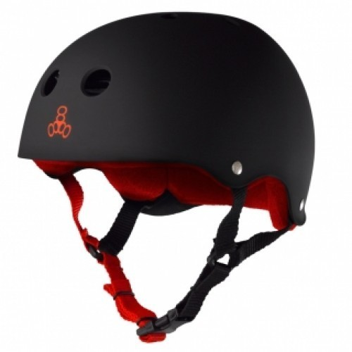 Triple 8 Pro XXL Heed Black Helmet
