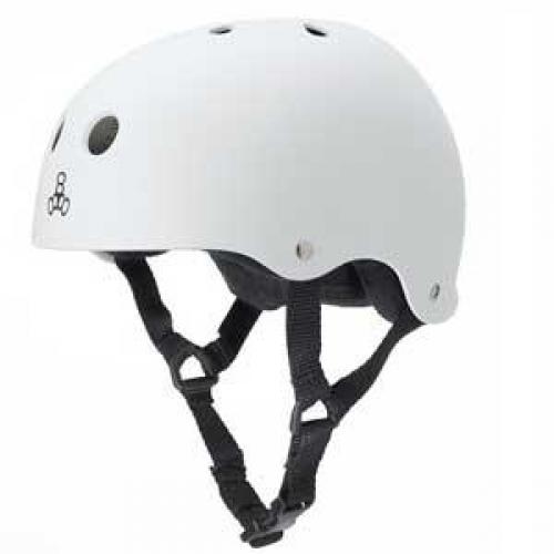 Triple 8 Pro XXL Heed White Helmet