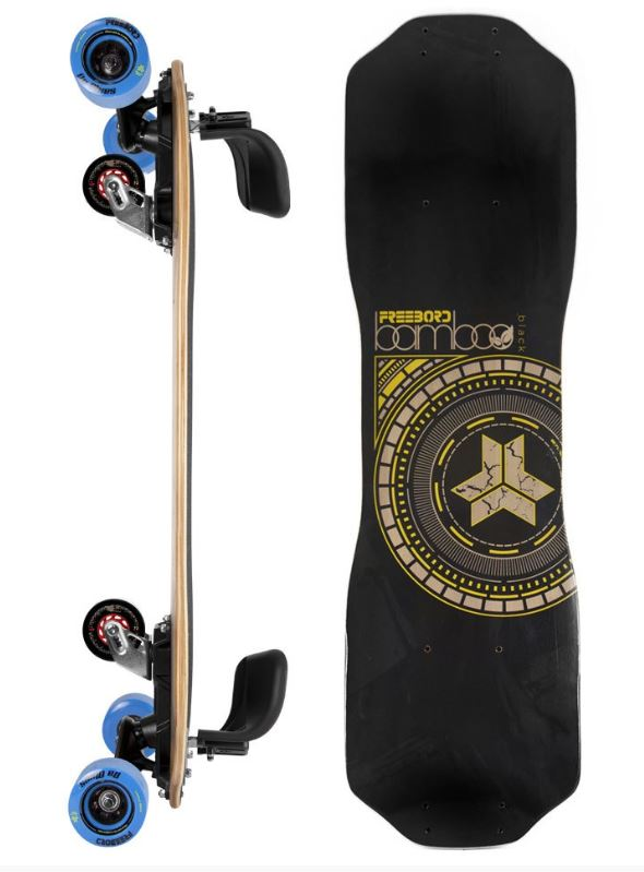 Freebord Black Bamboo Series Pro Complete