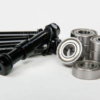 Streetboardz Bearings (set of 8) with axle bolts, spacers and washers