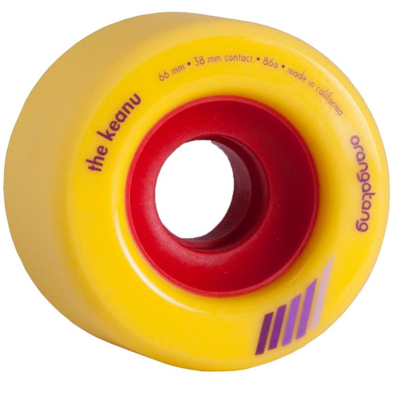 Orangatang The Keanu 66mm x 86a Wheels