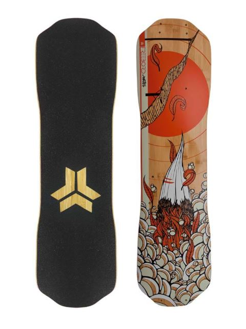 Freebord Path Bamboo Series Deck