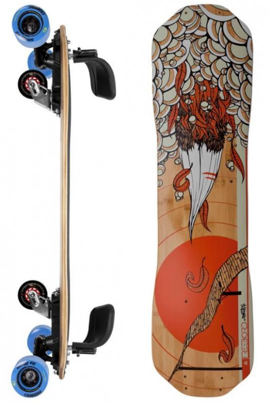 Freebord Path Bamboo Series Pro Complete