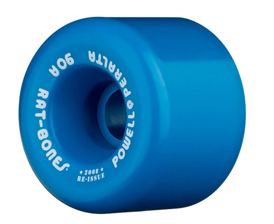 Powell Peralta Rat Bones 60mm x 90a Blue Wheels