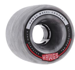 Hawgs Fatty 63mm x 78a Grey/White Swirl Wheels