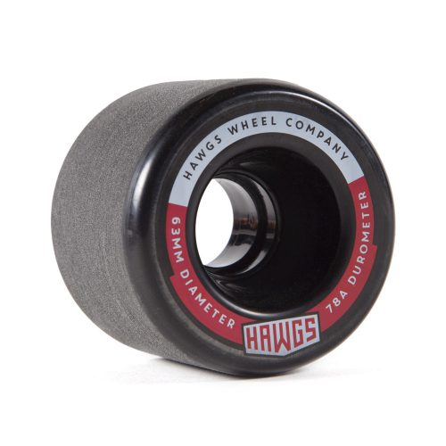 Hawgs Fatty 63mm x 78a Black Wheels