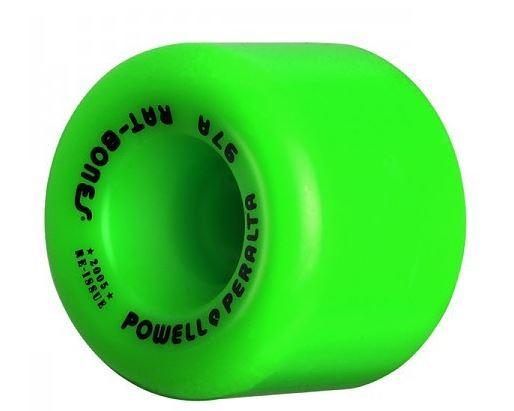 Powell Peralta Rat Bones 60mm x 90a Green Wheels