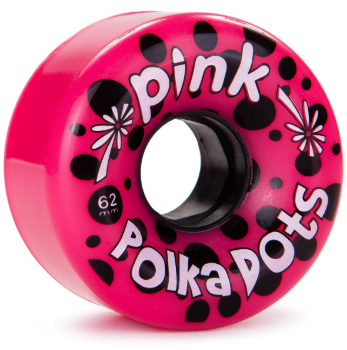 Abec 11 Pink Polka Dots 62mm x 78a Wheels