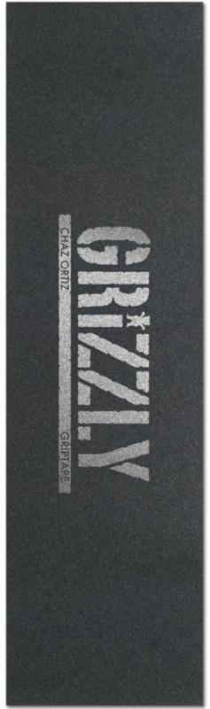 Grizzly Stamp Print Chaz Ortiz Grey Griptape