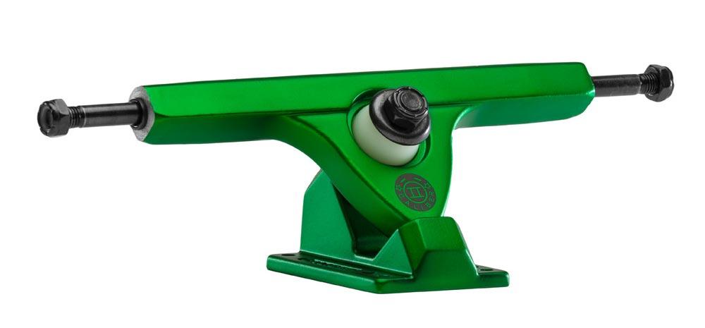 Caliber II 50° Satin Green 180mm Trucks