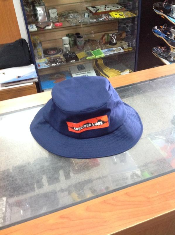 Concrete Lines Skateshop Blue Bucket Hat