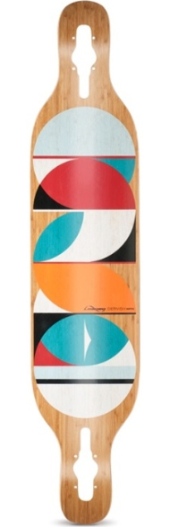 "Loaded Dervish Sama 42.8"" Deck"