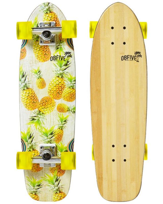 "OBfive Pineapple Vibes 28"" Cruiser"