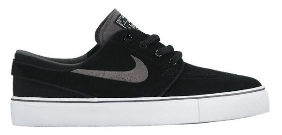Nike SB Stefan Janoski GS Black/Light Graphite Shoes