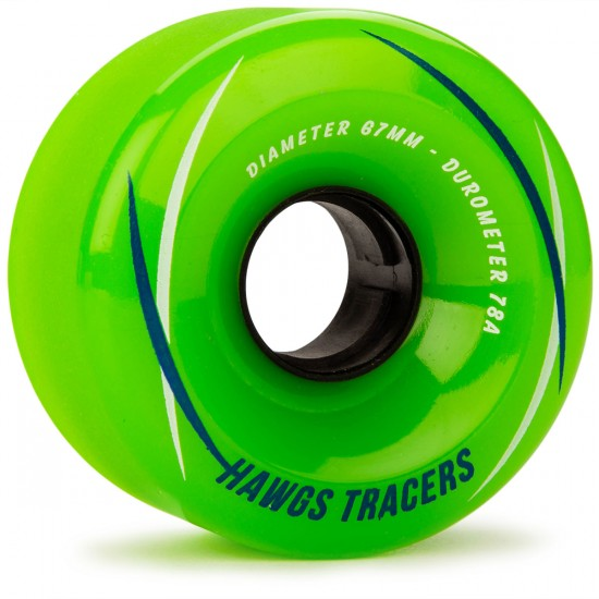 Hawgs Tracer 67mm x 78a Green Wheels