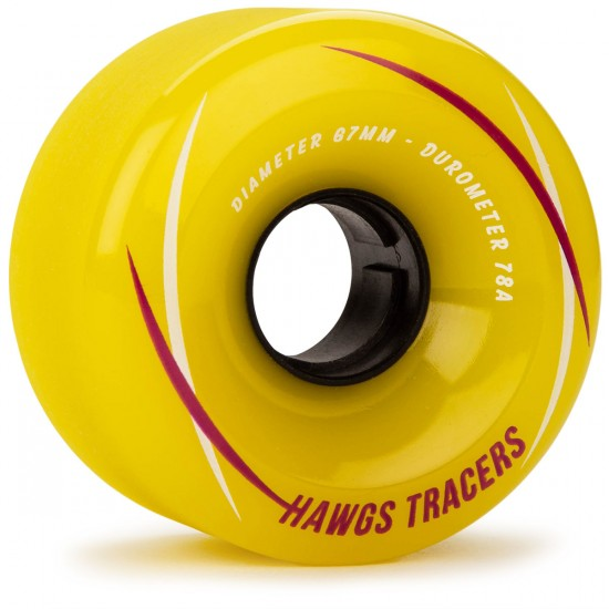 Hawgs Tracer 67mm x 78a Yellow Wheels