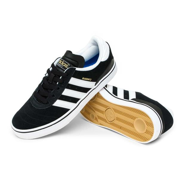 Adidas Busenitz Vulc BlackWhite Shoes
