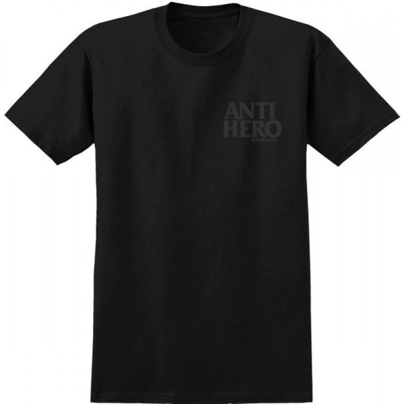 Anti Hero Skateboards Lil Blackhero Skateboard Tee