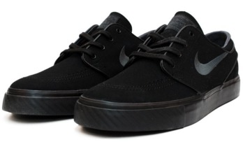 classic style in stock attractive price Nike SB Zoom Stefan Janoski Black/Black/Anthracite Canvas Shoes