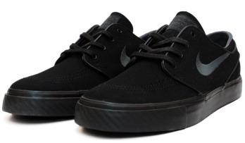 Nike SB Stefan Janoski Black Anthracite Canvas Shoes