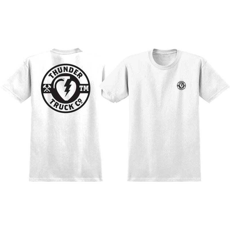 Thunder Trucks Mainline 2 Premium White-Black Tee