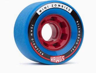 Hawgs Mini Zombie 70mm x 78a Wheels