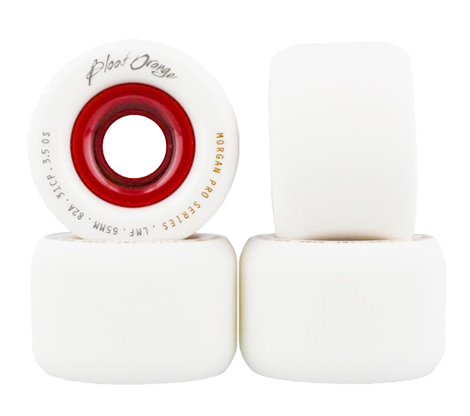 Blood Orange Liam Morgan White 65mm x 82a Wheels