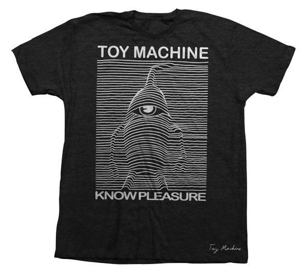 Toy Machine Skateboards Toy Division Black Tee