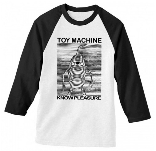 Toy Machine Skateboards Toy Division Raglan T-Shirt