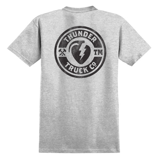 Thunder Mainline Athletic Black Pocket Tee