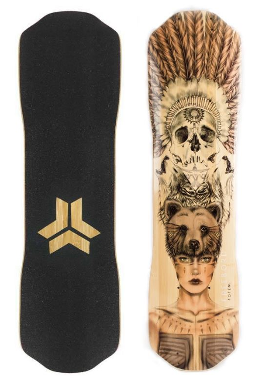 Freebord Totem Bamboo Series Deck