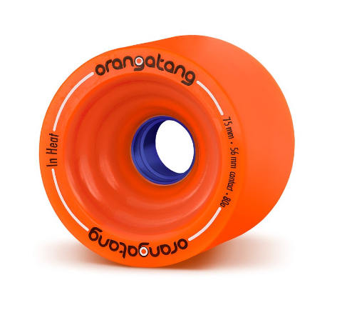 Orangatang In Heat 75mm x 80a Wheels
