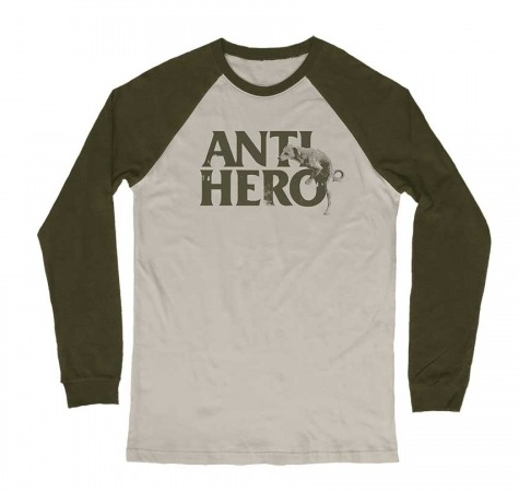 Anti Hero Doghump Tan-Army Long Sleeve Tee