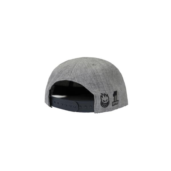 Spitfire Adjustable 6 Panel Dugout Grey-Navy Hat