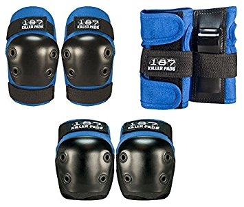 187 Junior Blue/Black Six Pack