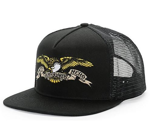 Anti Hero Eagle Black Trucker