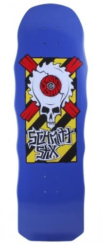 """Schmitt Stix Skullsaw Re-Issue 10"""" Deck"""