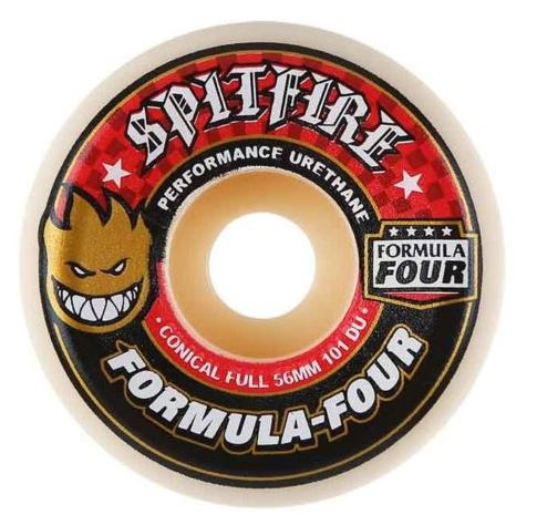 Spitfire F4 Conical Full 56mm x 101A Wheels