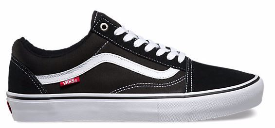 Vans Old Skool Pro Black/White Shoes