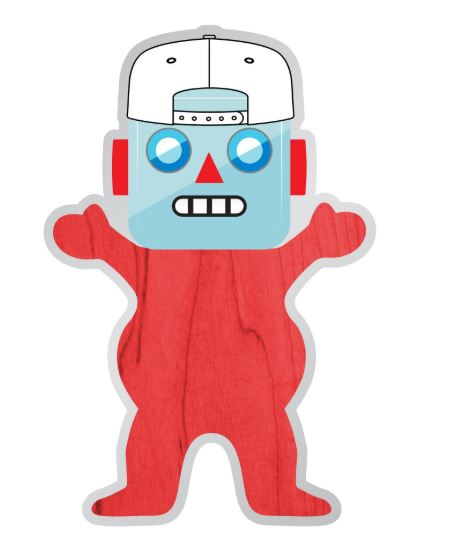 Grizzly Griptape Shanebot Sticker