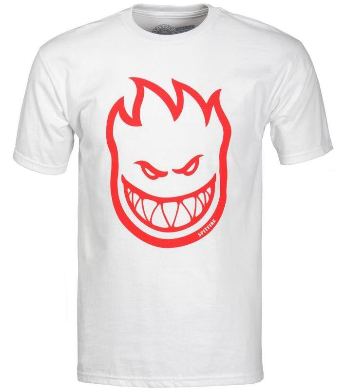 5760b0d62d5c3a Spitfire Bighead White-Red Tee. Buy it now!